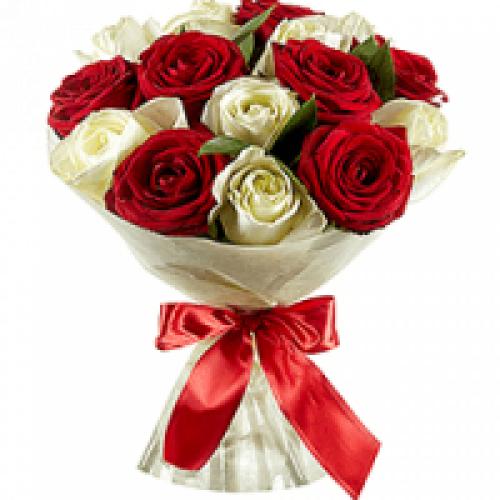 15 Голландских роз * 80 см