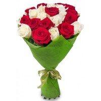 25 Голландских роз * 80 см